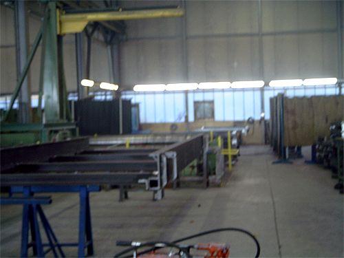 Stahlbauhalle