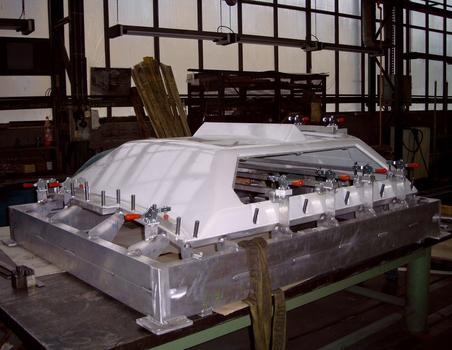 Aluminium-Bohrvorrichtung